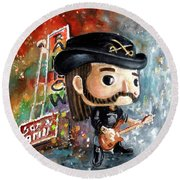 Funko Lemmy Kilminster Out To Lunch Round Beach Towel