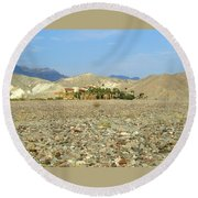 Furnace Creek Inn Round Beach Towel