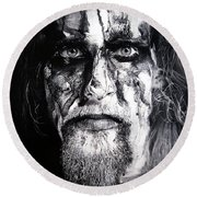 Gaahl Round Beach Towel