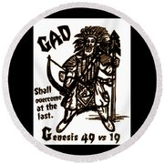Gad At The Last Round Beach Towel