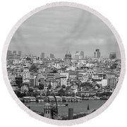 Galata Round Beach Towel