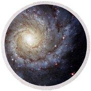 Galaxy Swirl Round Beach Towel