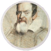 Galileo Galilei Round Beach Towel