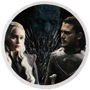Game Of Thrones. Round Beach Towel