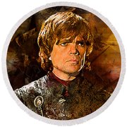 Game Of Thrones. Tyrion Lannister. Round Beach Towel
