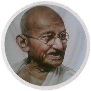 Gandhiji Round Beach Towel