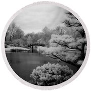 Garden Of Pure Clear Harmony Round Beach Towel