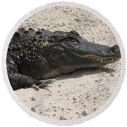 Gator II Round Beach Towel