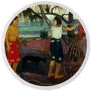 Gauguin: Pandanus, 1891 Round Beach Towel