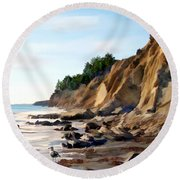 Gaviota Round Beach Towel