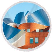 Gehry Architecture Round Beach Towel