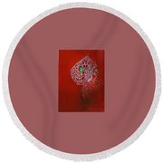Gem Round Beach Towel