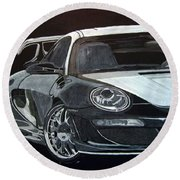 Gemballa Porsche Right Round Beach Towel