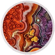 Gemstone 3 Round Beach Towel