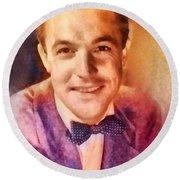 Gene Kelly, Vintage Hollywood Legend Round Beach Towel