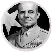 General Doolittle Round Beach Towel by War Is Hell Store