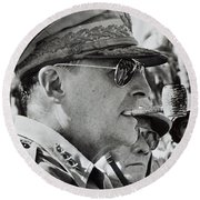 General Douglas Macarthur, 1944 Round Beach Towel