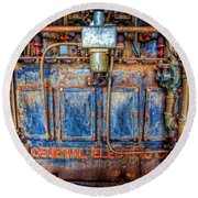 General Electric Round Beach Towel