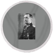 General Friedrich Wilhelm Ernst Paulus 1942 Round Beach Towel