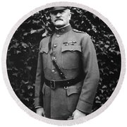 General John J. Pershing Round Beach Towel