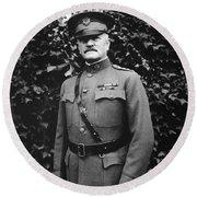 General John J. Pershing Round Beach Towel