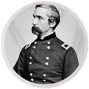 General Joshua Chamberlain  Round Beach Towel
