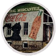 General Mercantile Round Beach Towel