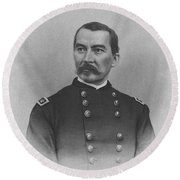 General Philip Sheridan Round Beach Towel