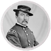 General Sheridan Round Beach Towel