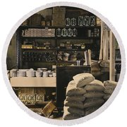 General Store, 1936 Round Beach Towel