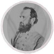 General Thomas Stonewall Jackson - Two Round Beach Towel