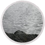 Gentle Waters Round Beach Towel