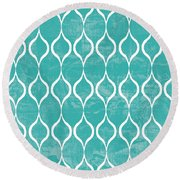 Geometric 3 Round Beach Towel