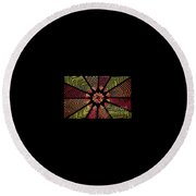 Geometric 5 Round Beach Towel