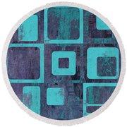 Geomix 02 - Sp06c6b Round Beach Towel