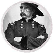 George Custer (1839-1876) Round Beach Towel