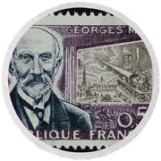 Georges Melies (1861-1938) Round Beach Towel