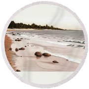 Georgian Bay Beach Round Beach Towel