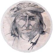Geronimo Round Beach Towel