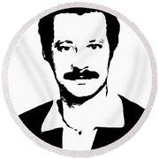 Ghassan Kanafani Round Beach Towel