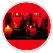 Ghost Light - St Bartholomew Round Beach Towel