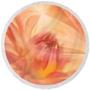 Ghost Of Ophelia Round Beach Towel