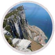Gibraltar Round Beach Towel