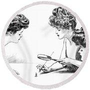 Gibson Girls 1904 Round Beach Towel