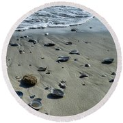 Gifts From The Ocean Round Beach Towel
