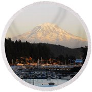 Gig Harbor Round Beach Towel