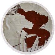 Gigi - Tile Round Beach Towel