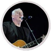 Gilmour #023 By Nixo Round Beach Towel
