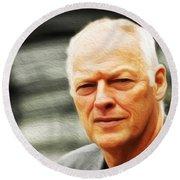 Gilmour #103 By Nixo Round Beach Towel