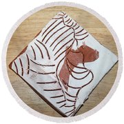 Glad - Tile Round Beach Towel